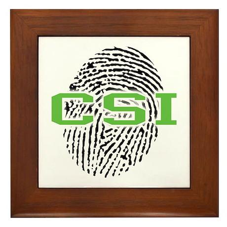 CSI Framed Tile