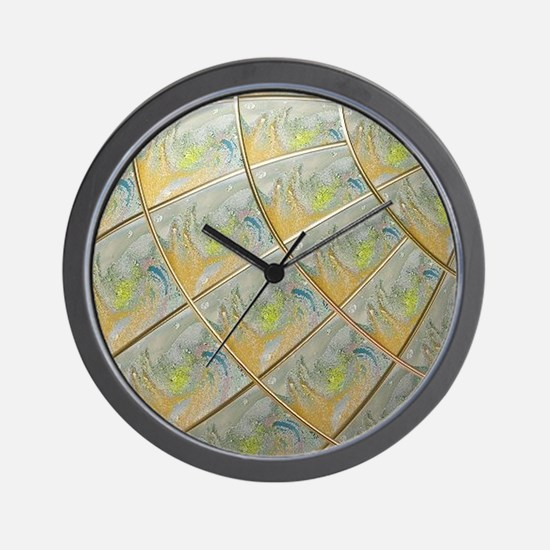 differently Wall Clock
