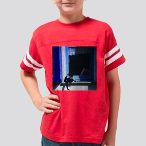 cat_11x11_pillow Youth Football Shirt
