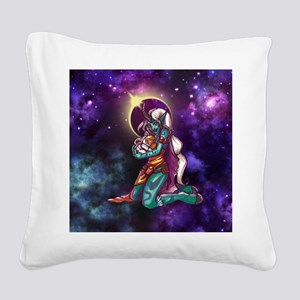 Astro Love Square Canvas Pillow