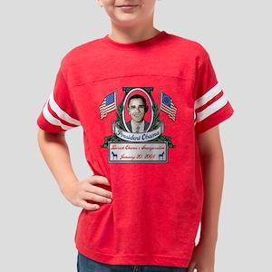 barack obama inauguration Youth Football Shirt