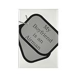 My Boyfriend is an Airman Rectangle Magnet (100 p