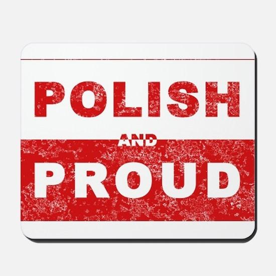Polish & Proud Mousepad