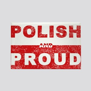 Polish & Proud Rectangle Magnet