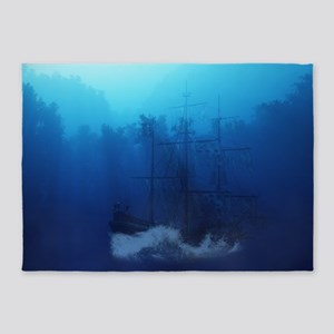 Ghost Ship 5'x7'Area Rug