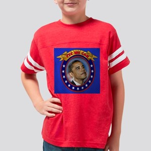 president barack obama 3 Youth Football Shirt