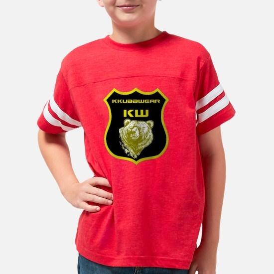 KW YELLOW SHIELD Youth Football Shirt