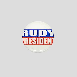 Rudy for President Mini Button