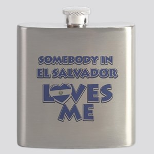 Somebody in El Salvador Loves me Flask