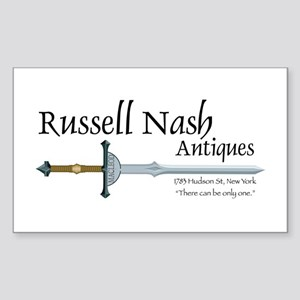 Nash Antiques Rectangle Sticker