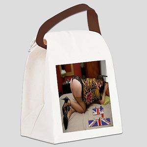 Sasha Paige 4 Pics Canvas Lunch Bag