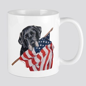 Patriotic Labrador Retriever Mug