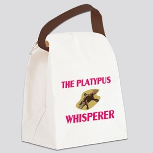 The Platypus Whisperer Canvas Lunch Bag