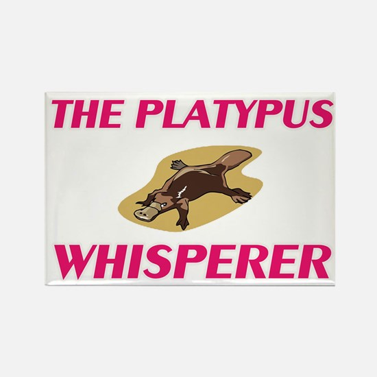 The Platypus Whisperer Magnets