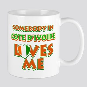 Somebody in Cote D'ivoire Loves me Mug
