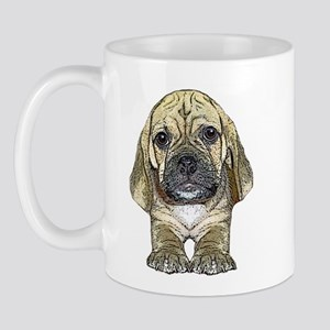 Just Puggle Art Mug