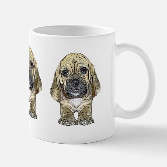 Just Puggle Art Mug