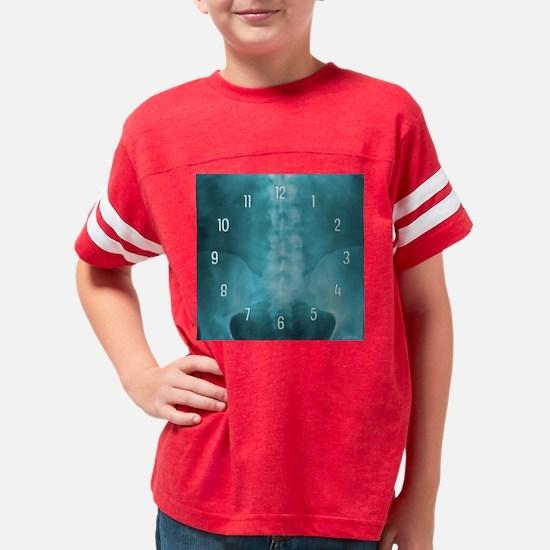 bluespineartclock Youth Football Shirt