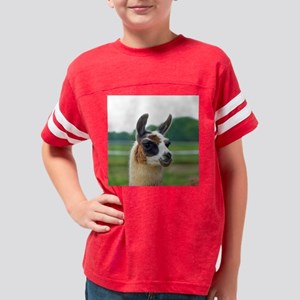 llama2_btn Youth Football Shirt