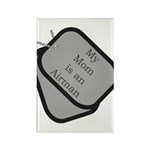 My Mom is an Airman Rectangle Magnet (100 pack)