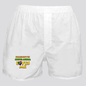 Somebody in South Africa Loves me Boxer Shorts