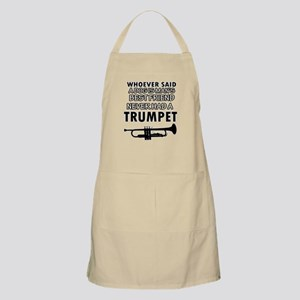 trumpet vector designs Apron