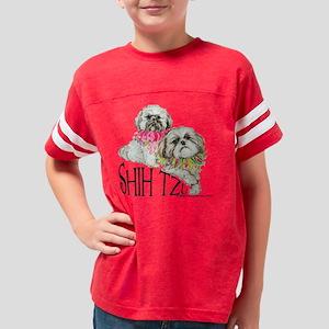 shihtzu 2 Youth Football Shirt