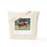 Doe in Grass Tote Bag