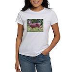 Doe in Grass Women's T-Shirt