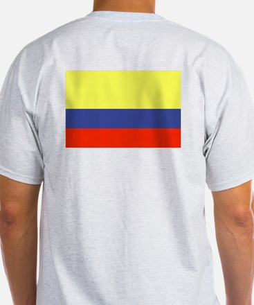 Colombian Flag 3 T-Shirt