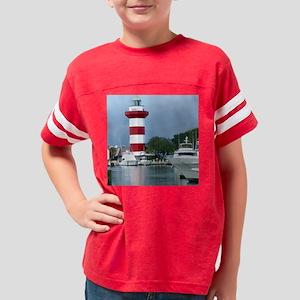 Hilton Head Tile Design Youth Football Shirt