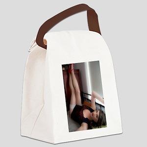 Sasha Paige Legs 2013 Canvas Lunch Bag