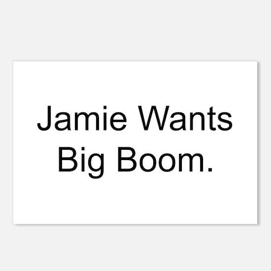 Jamie Wants Big Boom Postcards (Package of 8)