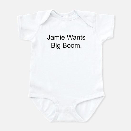 Jamie Wants Big Boom Infant Bodysuit