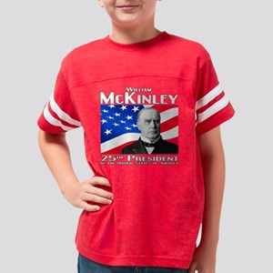 25 McKinley W Youth Football Shirt
