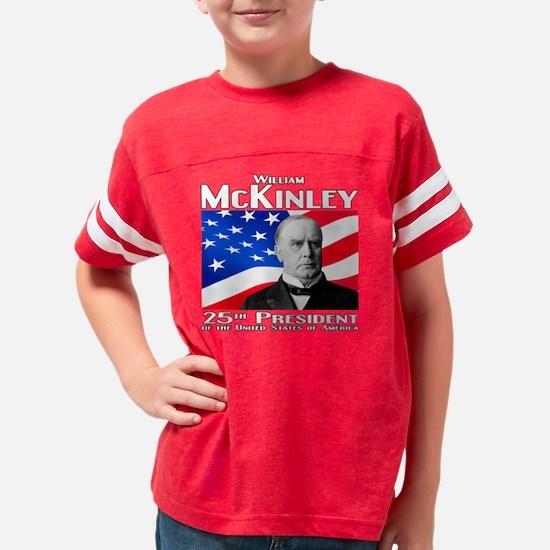 25 McKinley W Youth Football Shirt