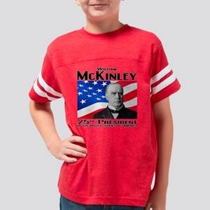 25 McKinley B Youth Football Shirt