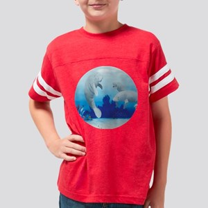 manatees-3-round Youth Football Shirt