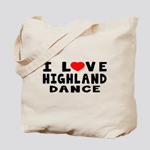 I Love Highland Tote Bag