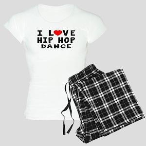 I Love Hip Hop Women's Light Pajamas