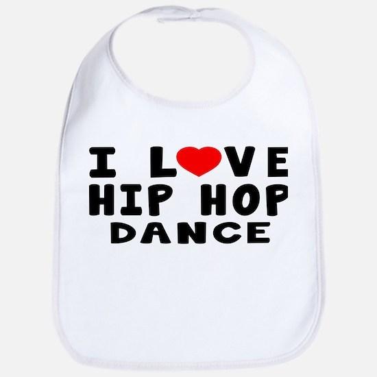 I Love Hip Hop Bib