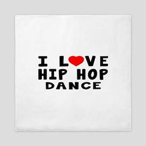 I Love Hip Hop Queen Duvet