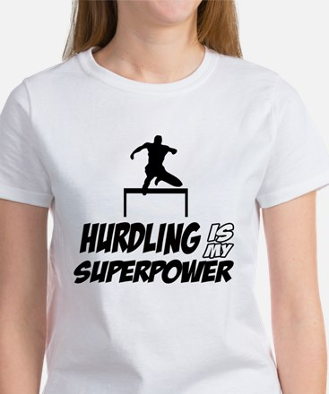 hurdling is my superpower Women's T-Shirt