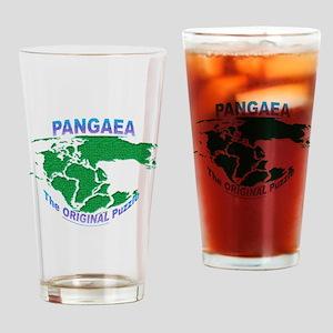 Pangaea: The original Puzzle Drinking Glass