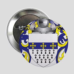 """Pavlik Coat of Arms (Family Crest) 2.25"""" Button"""