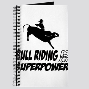 bull riding is my superpower Journal