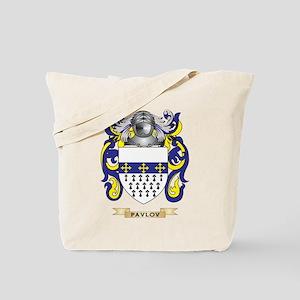 Pavlov Coat of Arms (Family Crest) Tote Bag
