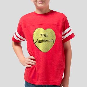 20th anniversary7t Youth Football Shirt