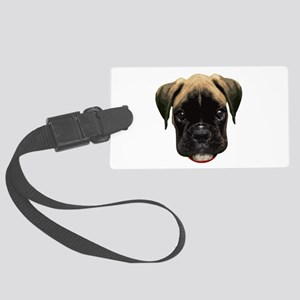 Boxer Face 001 Luggage Tag