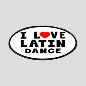 I Love Latin Patches